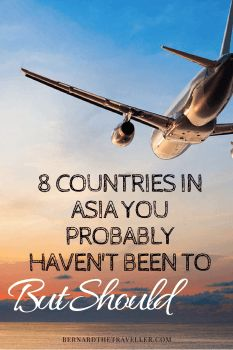 Asia is a well-travelled continent and at least one country here will feature on the travel wish lists of most. But people tend to go the same places – Thailand, Australia and Japan, for example.