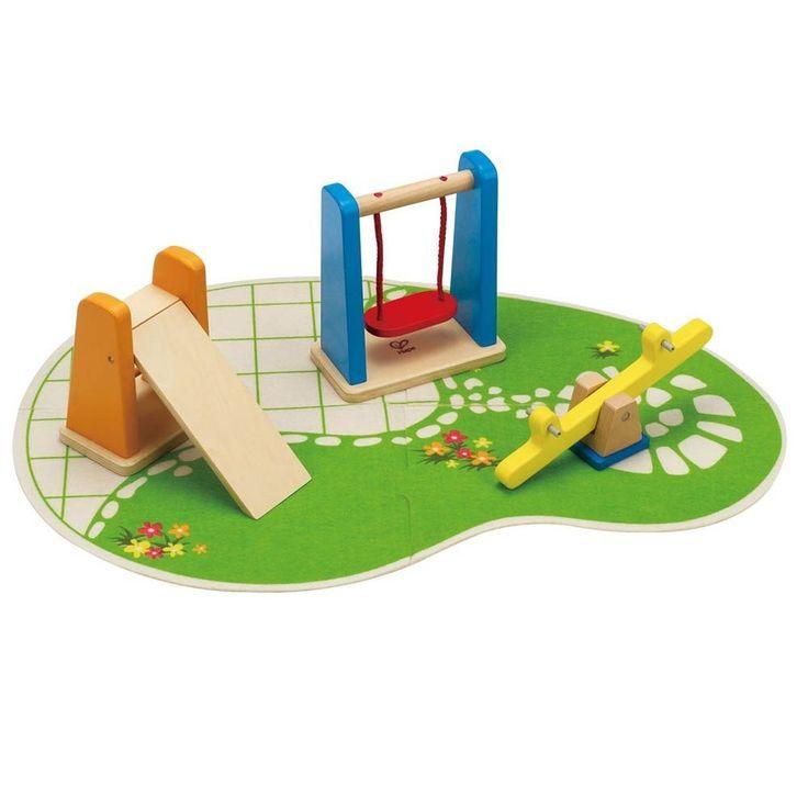 Hape - Playground Set Dolls Furniture 2