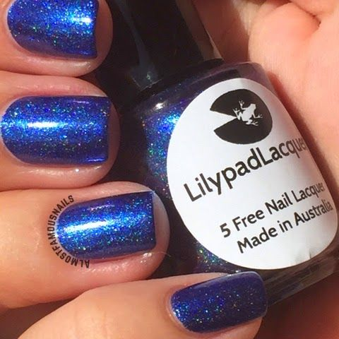 Almost Famous Nails: Lilypad Lacquer - New Releases of March 2015 - I'm So Into Blue