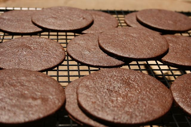 Chocolate Wafer Cookies - Recipe - because so many of my other recipes call for these as a crust, or addition into the dessert.  And I NEVER have them on hand!!!