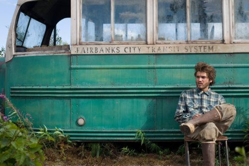 Favourite movie - Into The Wild  I love his mentality, it made me think about our society for days