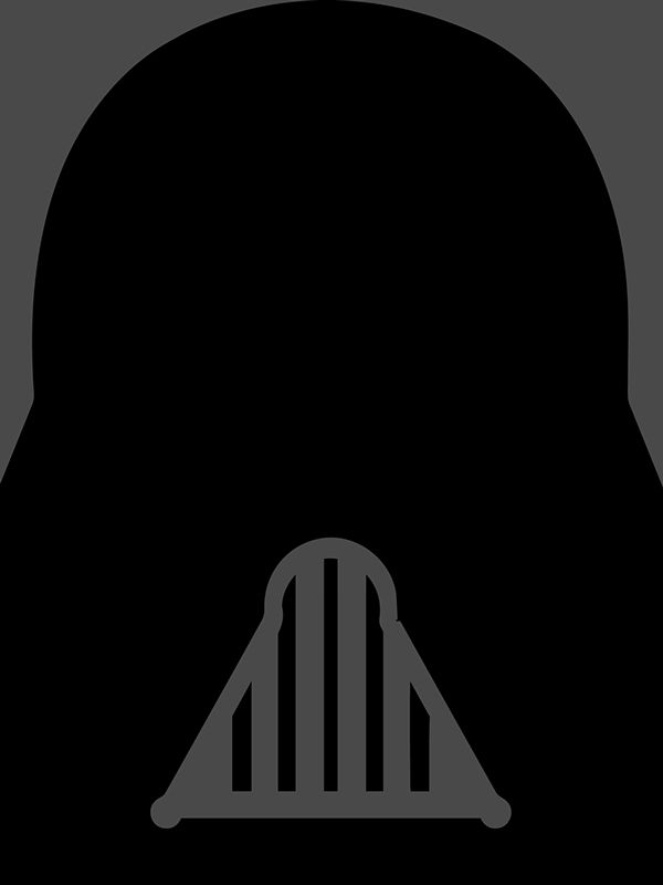 Darth Vader - Minimalist Bad Guys on Behance