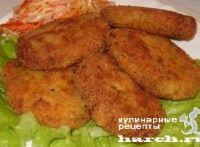 Рыбный ромштекс с овощами