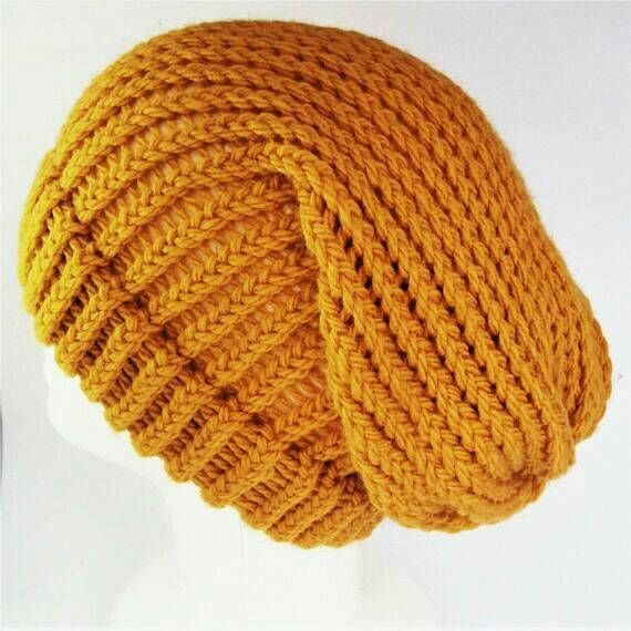 Yellow summer beanie summer knit hat summer beanie women