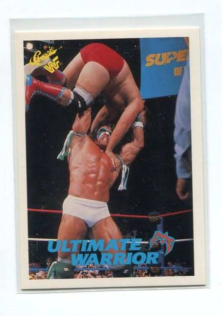 1990 WWF Classic ULTIMATE WARRIOR Trading Card - TripleGCollectibles, $3.00