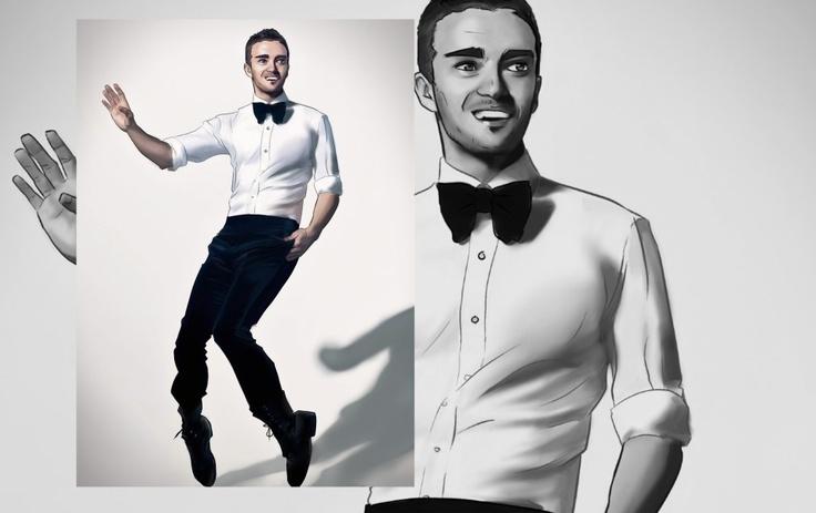 #Justin #Timberlake #Caricature - inLite Illustrations & Design