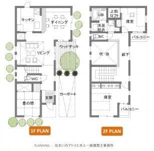 【図】30坪の家undefined間取り例(クリックして拡大)