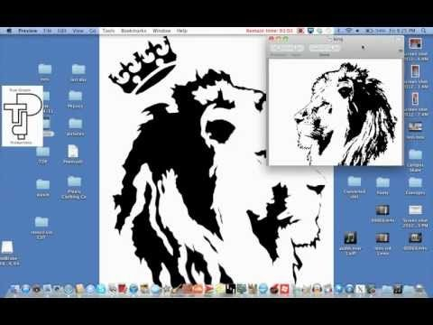 How to create a stencil from an image (graffiti style)