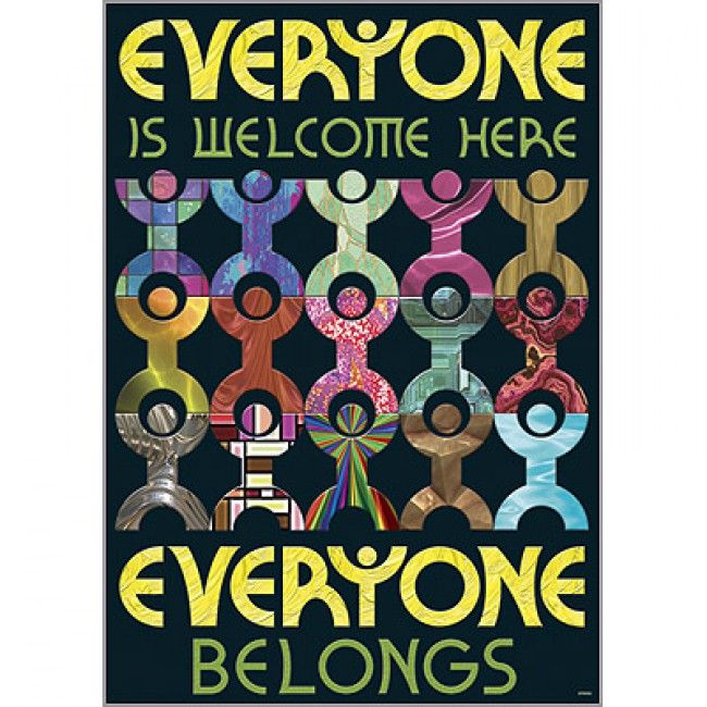 Everyone is welcome Poster | Classroom Displays