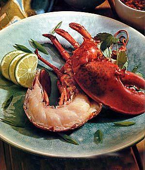 Grilled Summer Lobster