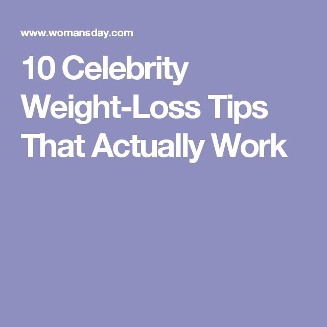 1dfiu7frrddxszxc0 Celebrity Weight-Loss Tips That Actually Work