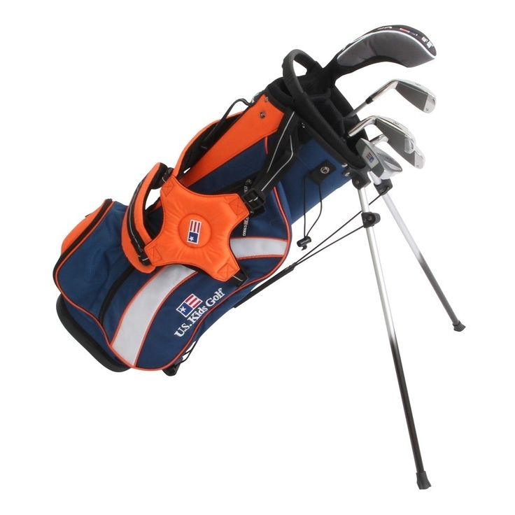 US Kids Golf UltraLight UL51 5 Club Set with Stand Bag - Golf Clubs - Puetz Golf