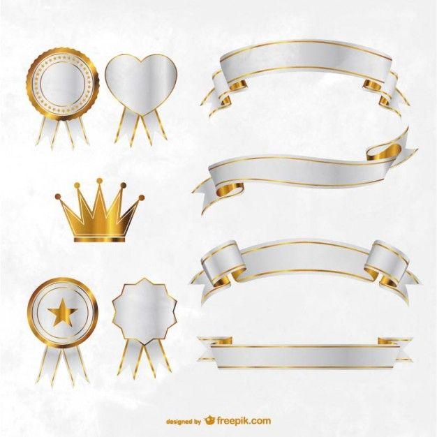 Premium ribbon design for freepik, downloaded it! thanks!