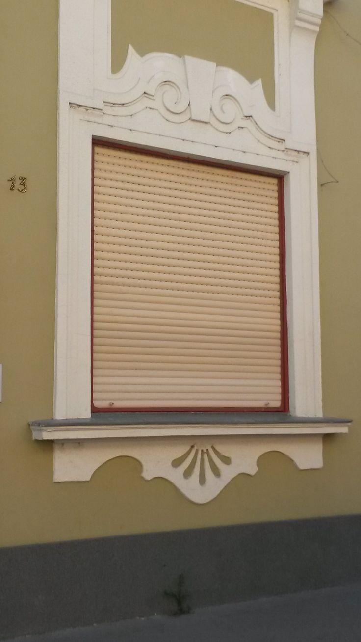 old window in Vác