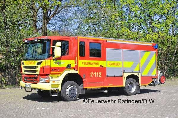 Tiefer gelegt – Das neue HLF 20 der Feuerwehr Ratingen