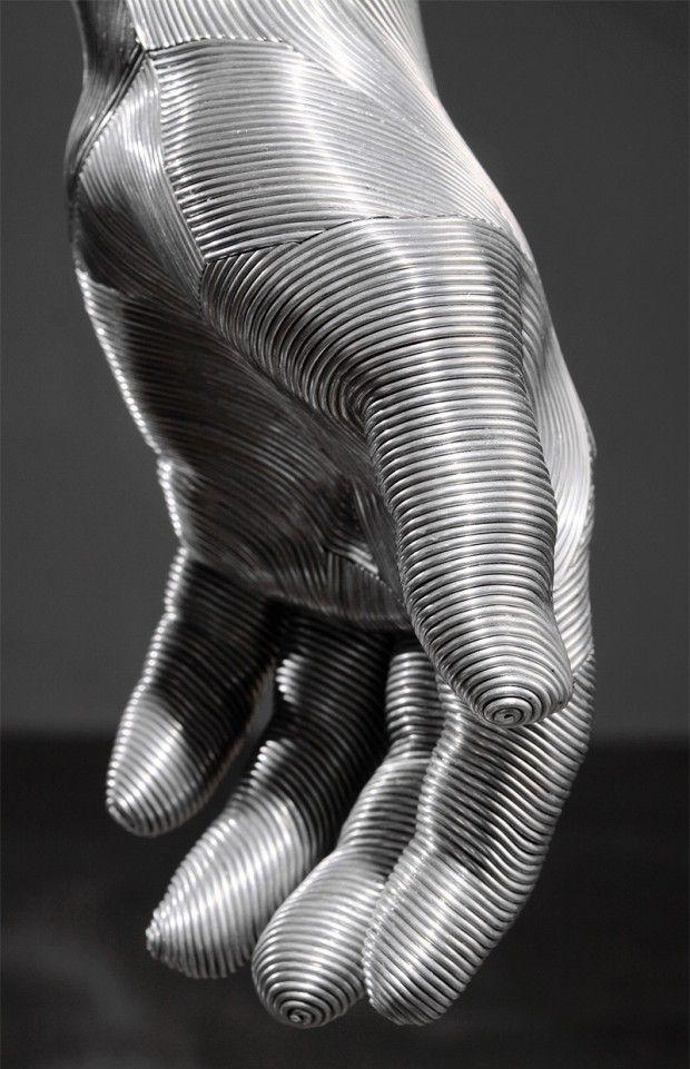 Sculptures en fil d'aluminium par Seung Mo Park - Journal du Design