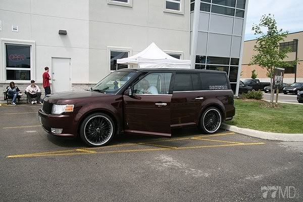 Pics of Flex on aftermarket rims : Ford Flex Forum