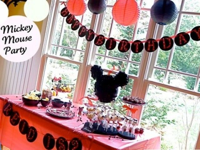 disney mickey baby shower themes - Baby Shower Decoration Ideas