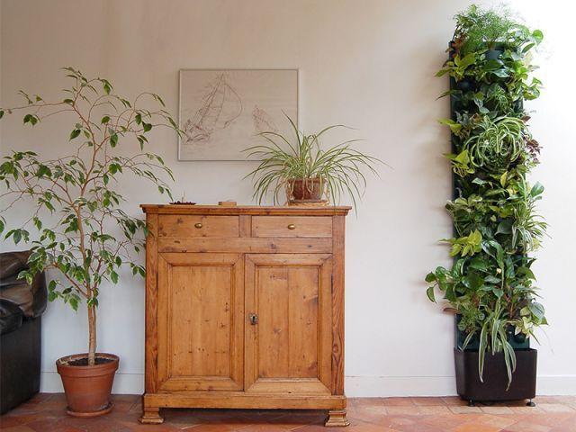 Flowall Totem® Vive le mur végétal modulaire, autonome !