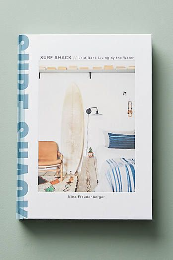 Anthropology Surf Shack Book