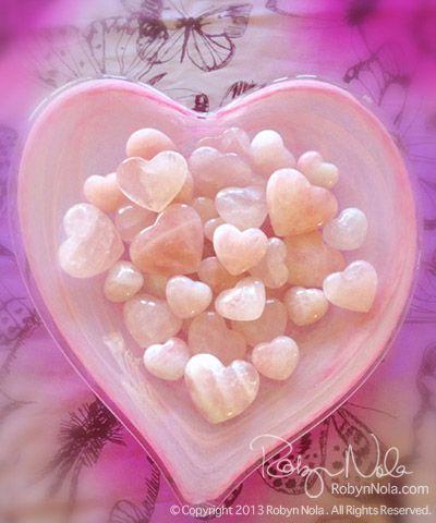 Rose Quartz Hearts: Gifts of Love, RobynNola.com