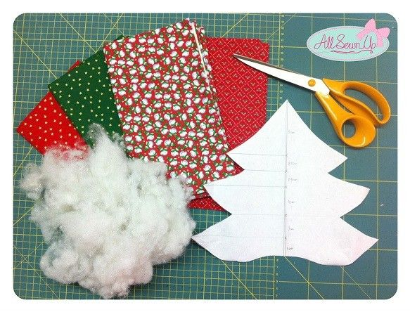 Christmas decorations sewing projects