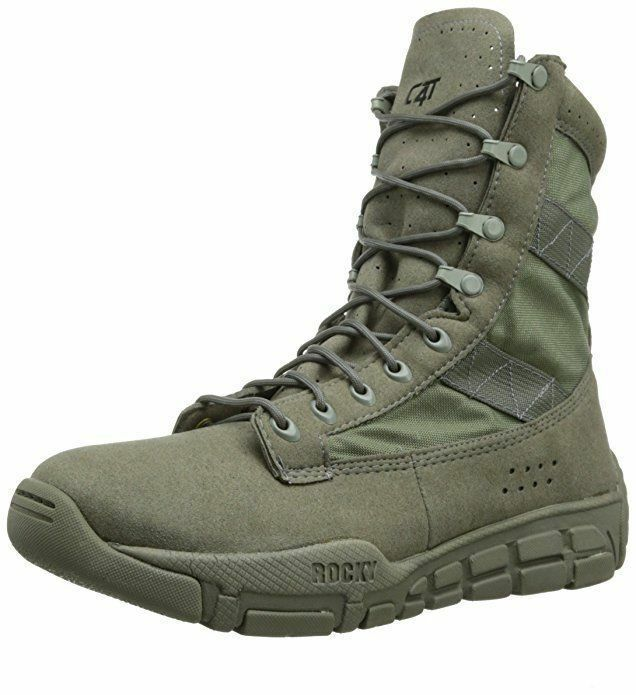 Rocky C4t Men S Fq0001073 Military And Tactical Boot Sage Green Ebay Best Military Boots Tactical Shoes Military Boots