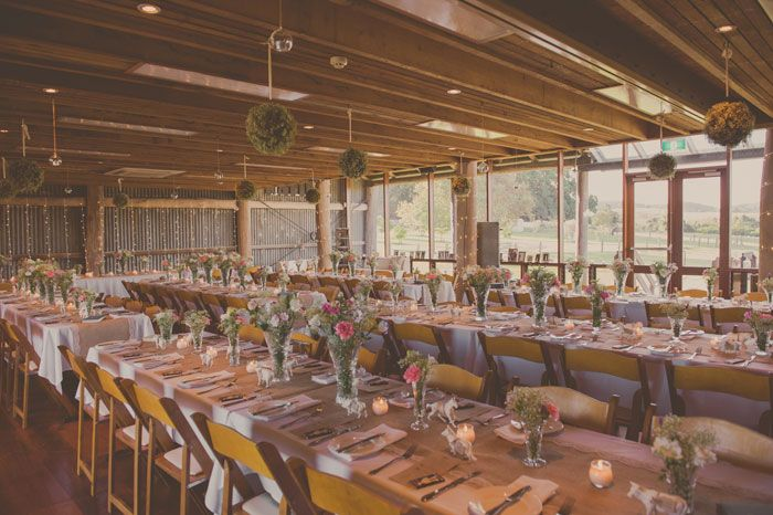 A Stylish DIY Barn Wedding in the Hunter Valley - Modern Wedding