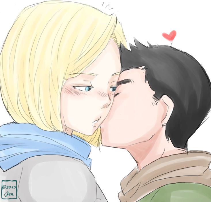 android 18 and krillin relationship