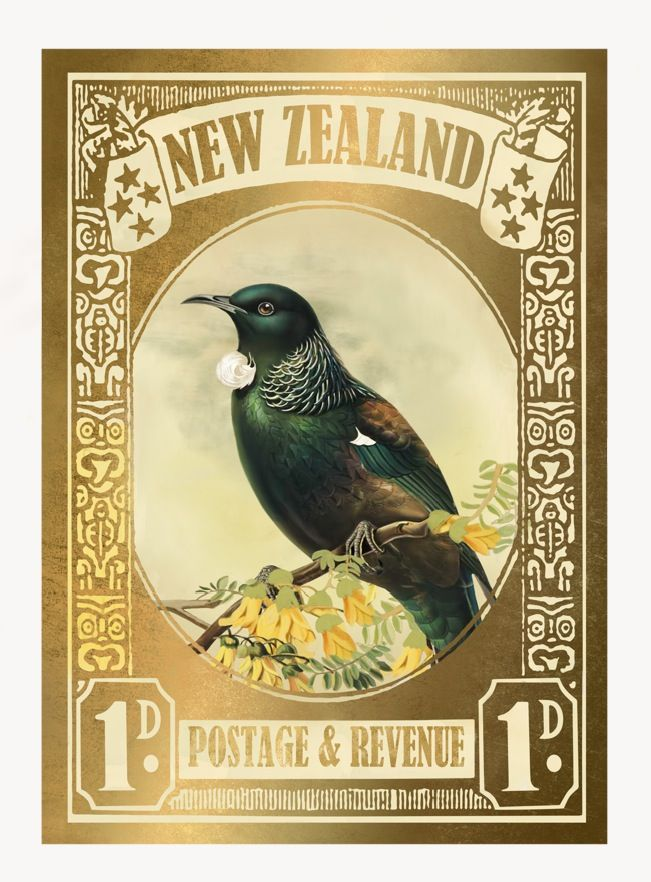 Tui Gold Stamp