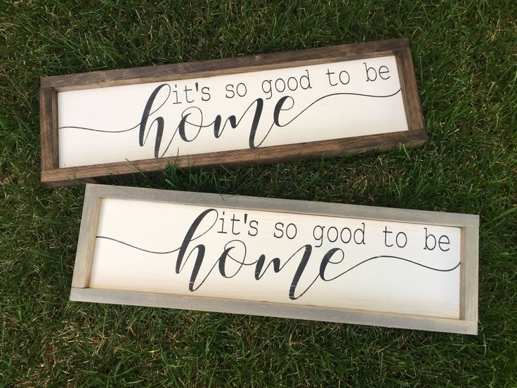 It's so good to be home - sign- welcome sign - unique welcome sign - funny welcome sign by KTInspiredHome on Etsy https://www.etsy.com/ca/listing/545161733/its-so-good-to-be-home-sign-welcome-sign