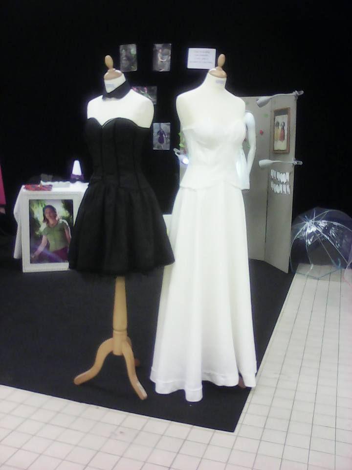 Robes Gwenn ha Du. Créations en lin, Atelier de Prat Santec, Morlaix