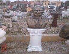 School Ataturk Bust