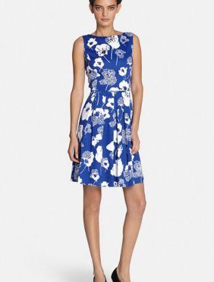 Tahari Sequin Floral Print Fit & Flare Dress (Regular & Petite). More Info : http://shoppingshoph.com/shop-details/tahari-sequin-floral-print-fit-amp-flare-dress-regular-amp-petite-1435614333036570200