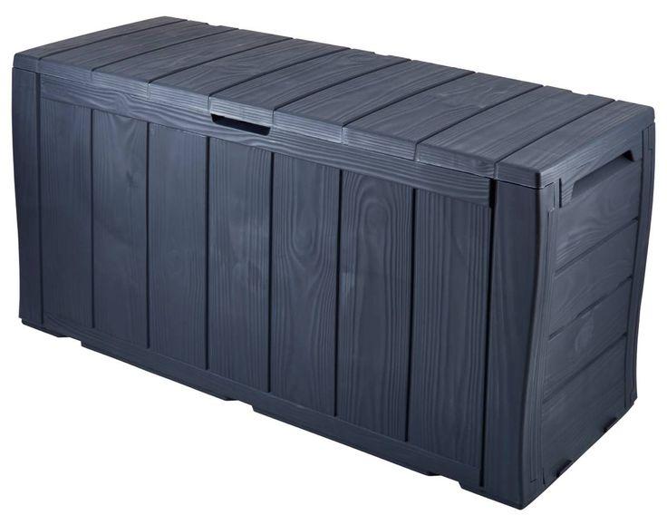 Dynbox - Dynlåda Förvaringslåda Förvaringsbox Trädgårdsbox Trädgårdslåda - Biltema