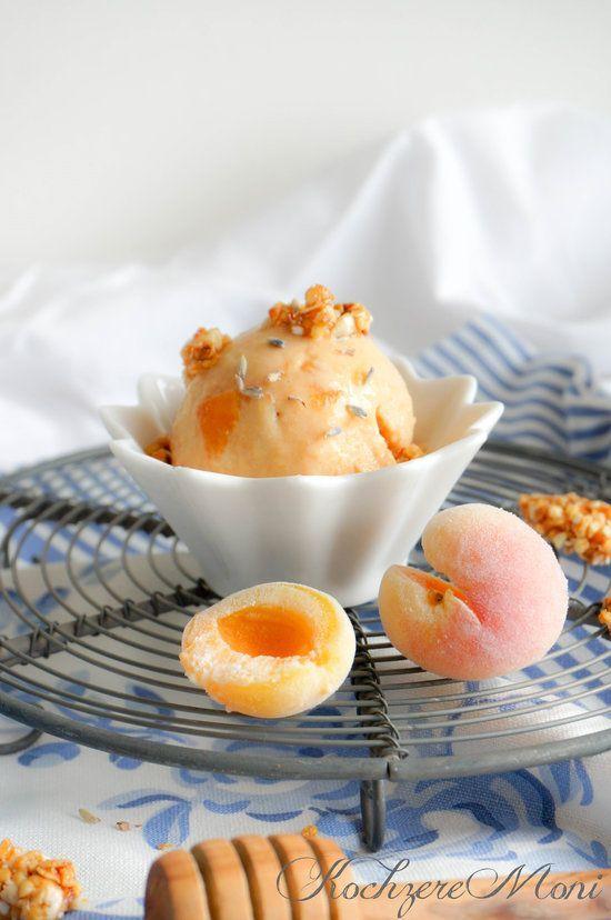 Aprikosen Frozen Joghurt