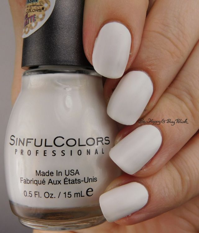 Sinful Colors Whipped Frosting | Be Happy And Buy Polish https://behappyandbuypolish.com/2017/01/10/sinful-colors-kandee-johnson-nail-polish-collection/