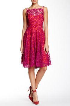 Eva Franco Sessoon Lace Dress