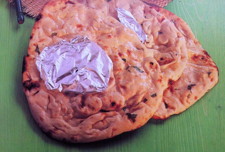 Bijgerecht - naanbrood