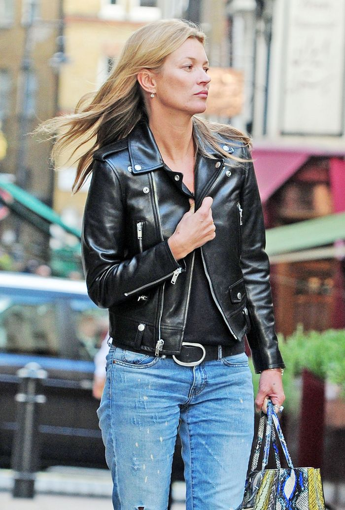 La Modella Mafia Kate Moss Fashion Street Style In A Saint