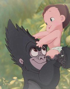 *TERK & TARZAN ~ Tarzan, 1999