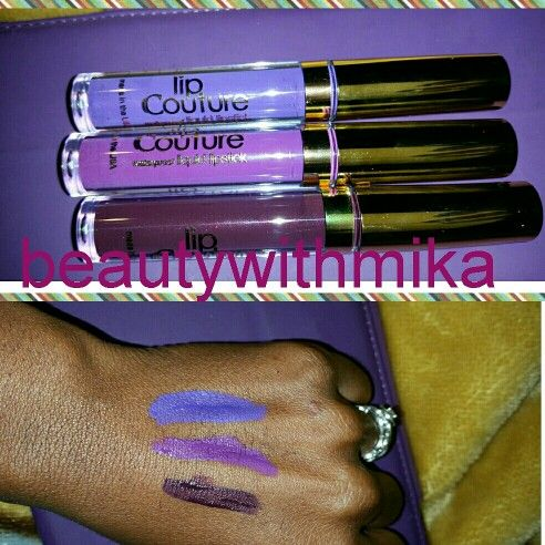 LA Splash lipsticks