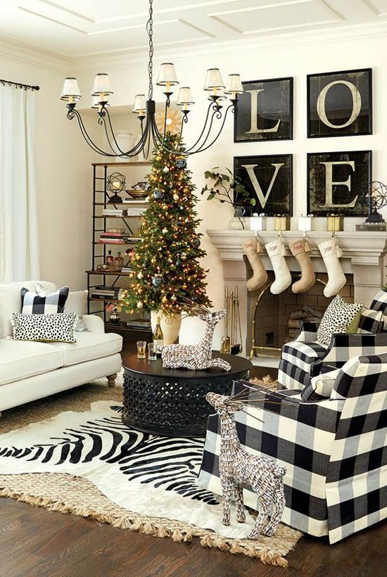 Most Breathtaking Christmas Living Room Decorating Ideas And Inspirations All About