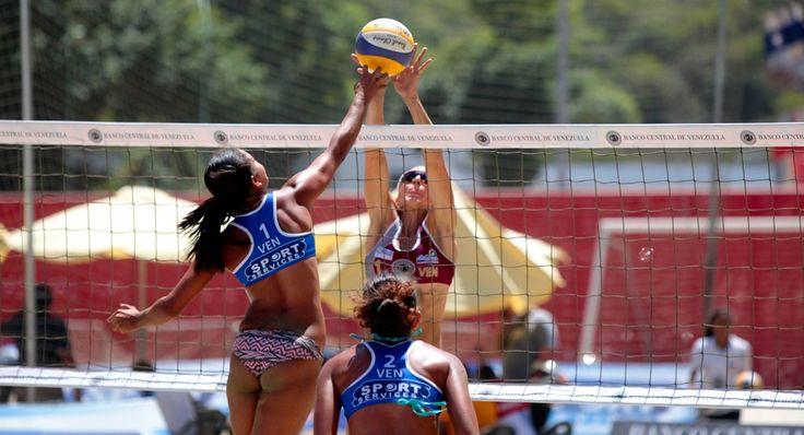 Inicio del suramericano de voleibol playero – Vargas / Ricardo Hernández