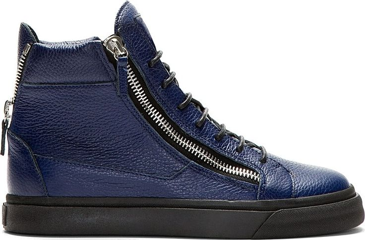 Giuseppe ZanottiRhinestone May London High-Top Sneakers OmC8q