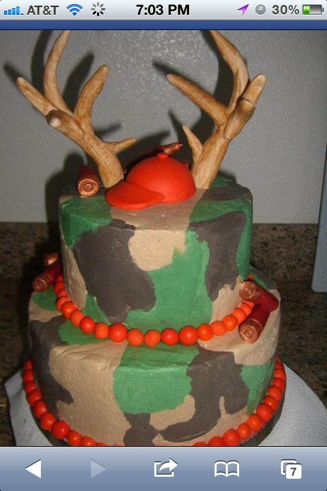 Awesome camo cake . For my sons first birthday ;)