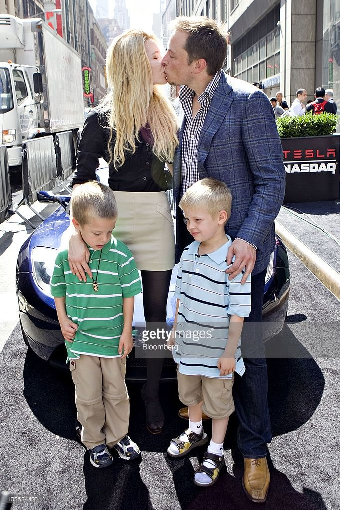 Justine Musk Kids