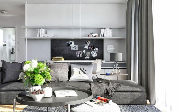 Svetlý interiér bytu