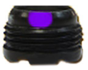 """SPECIALTY ARCHERY LLC S&S 5/16"""""""" Aperture w/#5 Verifier Purple, EA"""
