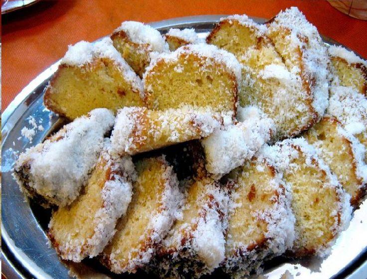 Torta de dulce de leche y coco apta para celíacos